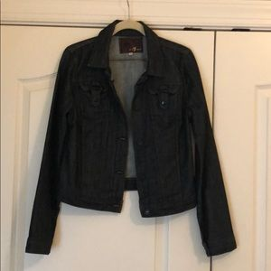 7 for all Mankind Jean Jacket